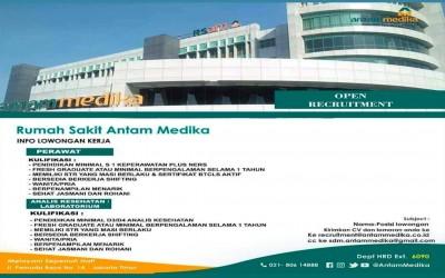 Open Requitmen Rumah Sakit Antam Medika