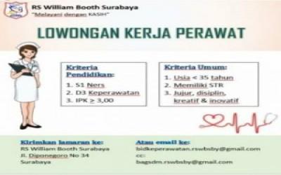Requitmen RS William Boot Surabaya